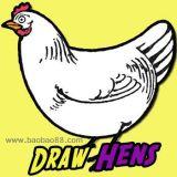 学画大母鸡