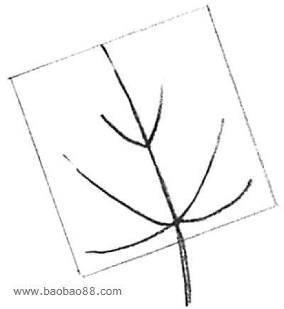 打开书本的简笔画法; 秋天枫叶简笔画;