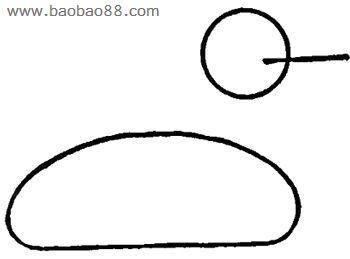 燕子的简笔画步骤