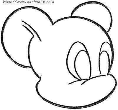 熊猫 卡通熊猫简笔画步骤图 幼儿简笔画 61