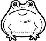 学画卡通青蛙1