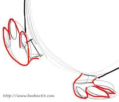 学画卡通企鹅[16p]_学习绘画简笔画(涂色图片)