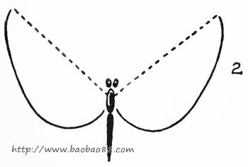 五角星对称轴画法 打开书本的简笔画法