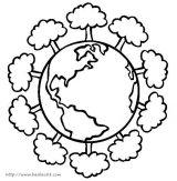 地球日简笔画2