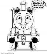 托马斯火车简笔画1