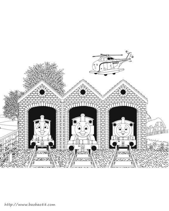 火车简笔画[21p]_卡通动漫简笔画