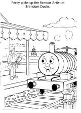 卡通火车简笔画图片下载