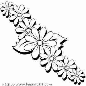 一朵花简笔画