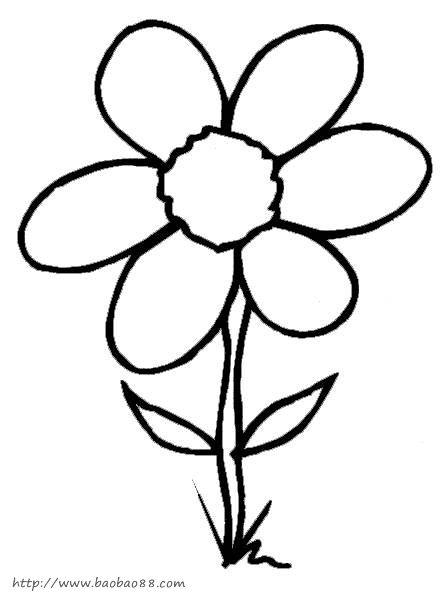 花朵矢量图玫瑰花矢量图花朵简笔画荷花矢量