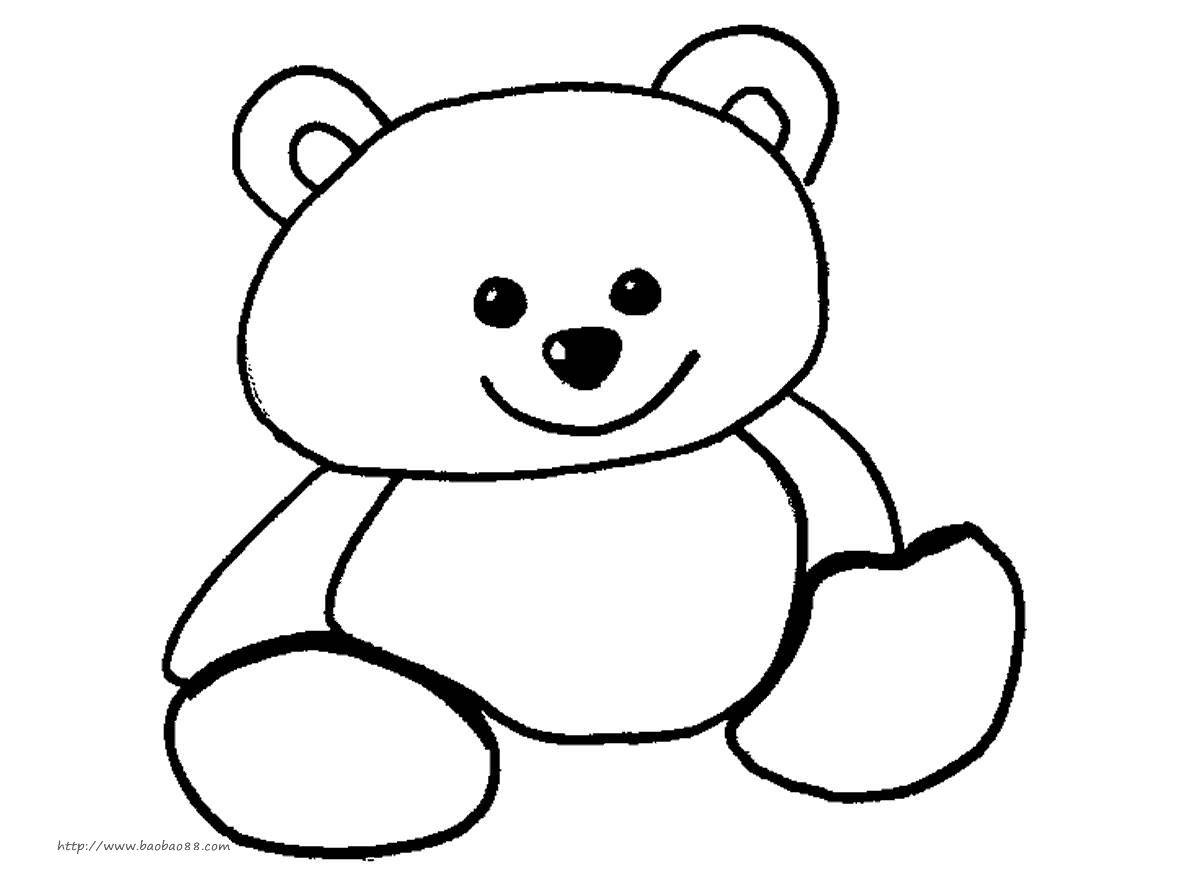 可爱小动物简笔画,学起来