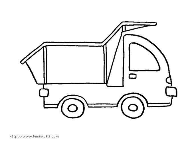 简单的交通工具简笔画4