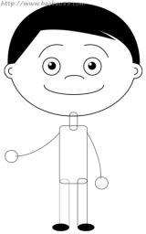 学画卡通新娘新郎4
