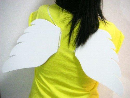 幼儿舞蹈天使的翅膀_纸制天使翅膀_幼儿手工 - 宝宝吧