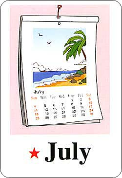 月份英语单词大全图片 十二个月份的英语单词,12个月份的英语单词