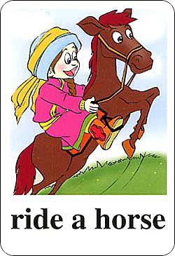 新版小学英语单词卡片-五年级上册图片