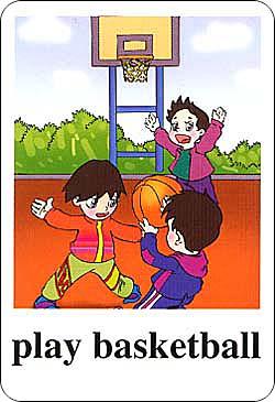 新版小学英语单词卡片-五年级下册