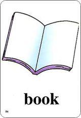 新起点小学英语单词卡片-一年级上册