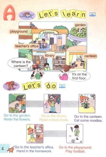 四年级下册英语书课本