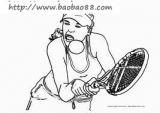 打网球简笔画2