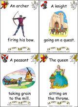 骑士和城堡卡片2