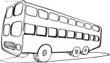 各种运输车简笔画5