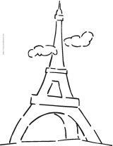 法国简笔画6