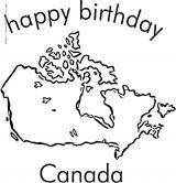 加拿大简笔画5
