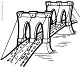桥梁构造简笔画6