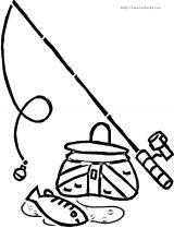 钓鱼简笔画5
