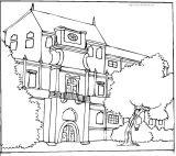 房子填色图6