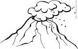 沙漠-灾害-天气-森林简笔画5