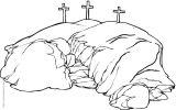 耶稣简笔画