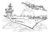 军用武器设备简笔画4
