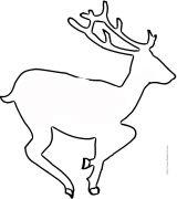 人物动物轮廓素描24