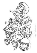 神奇的女巫学院简笔画