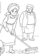 小公主莎拉填色图6