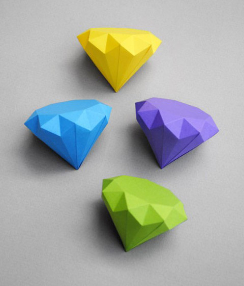 3d Origami Pen Stand