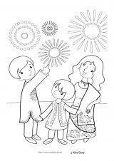 印度儿童简笔画6