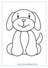 宠物填色图2