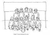 足球健儿简笔画6