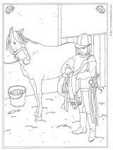 骑马填色图3