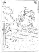 骑马填色图5
