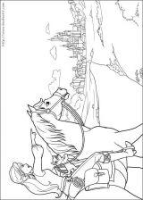 芭比梦幻仙境-三剑客填色图1