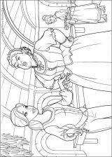 芭比梦幻仙境-三剑客填色图4