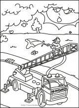 消防着火简笔画6