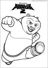 功夫熊猫2简笔画
