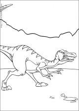 小恐龙历险记简笔画4