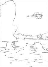 小小北极熊简笔画4