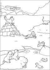小小北极熊简笔画6