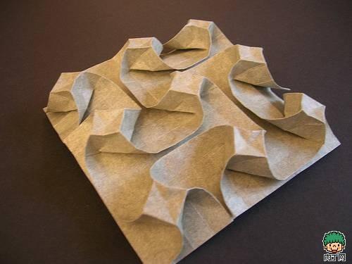 纸箱折纸v纸箱开口立体图纸图片